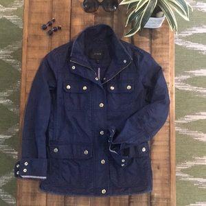 J. Crew cotton Field Jacket